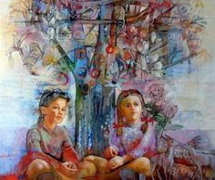 Born in in Athens, Greece.Katia Varvaki is a contemporary Greek artist with long experience in descriptive a. Conceptual Art, Printmaking, Decoupage, Culture, Fine Art, Artist, Photography, Painting, Boys