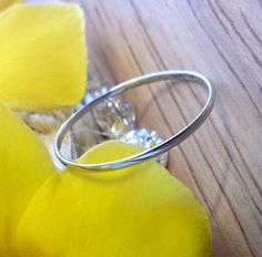 Super Thin Platinum band ring platinum spacer by FormonteJewellery