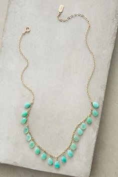 93fa973eb349 Lowlands Necklace - anthropologie.com Collares Hacer