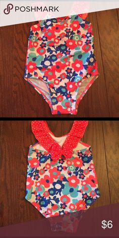 Swimsuit, Size 2T Very GUC. Only Worn 2-3 Times. No Stains or Holes. Runs a little small in my opinion. Pet and Smoke Free Home. Joe Boxer Swim One Piece