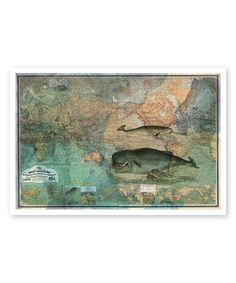This The World Map 1870 Print is perfect! #zulilyfinds