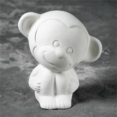 "Tiny Tot Momo the Monkey - 3.5"" x 2.25"" x 3.25"" - 6 of 6"