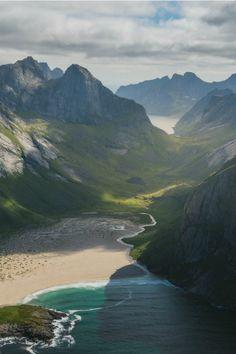 "tulipnight: "" Above Lofoten by Daniel Kordan """