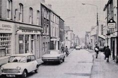 Barrack Street in Image from the Evening Echo. Cork City Ireland, Historical Society, Old Photos, Honda Bikes, Street View, Image, Old Pictures, Honda Motorcycles, Vintage Photos
