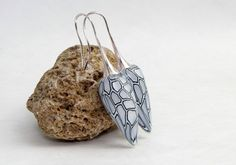 fairy earring, Verwunschne Fee Polymer clay Ohrpendel  Ohrringe von polymerdesign