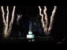 Luces multicolores en el Magno Concierto de Navidad Ciudad del Carmen