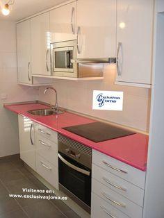 Realizaci n de proyecto de cocina en 3d hecho realidad muebles de cocina a medida en blanco - Muebles aragon madrid ...
