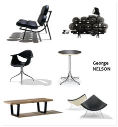 designers diseñadores George Nelson