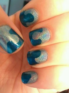 My World Autism Awareness Day Manicure