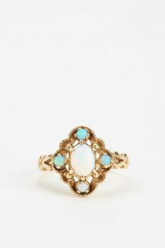 Vintage Opal Ring I would love a ring like this