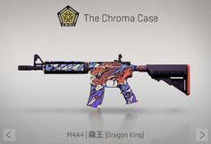 Counter-Strike Global Offensive: The Chroma Case: M4A4 Dragon King