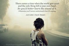 sarah dessen quote