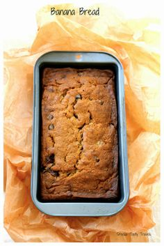 Eggless Banana Chocolate Chip Cake- Super Duper Easy #cakes #healthy