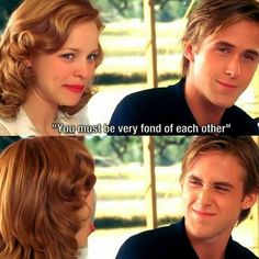 Awww love them Notebook movie Ryan Gosling and Rachel McAdams Romantic Movie Quotes, Favorite Movie Quotes, Romantic Movie Scenes, Romantic Films, Cute Relationship Goals, Cute Relationships, Healthy Relationships, The Notebook Quotes, The Notebook Scenes