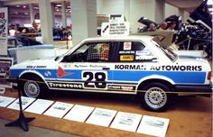 1986 BMW 325e - This was a clone of the Korman race car that I made up for the Autorama Car Show in Salt Lake about a month after the Phoenix race.  The real car was still back at the shop with repairs underway so I borrowed a brand new 325 from the BMW of Murray showroom and did a quick graphics job on it!