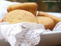 Easy coconut flour muffins (grain free, dairy free). These are light, fluffy and melt-in-your-mouth!