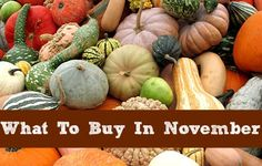 November Grocery Store Trends 2013.  What you'll find the best deals on in November.