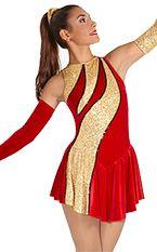 slash demi dress