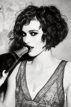 Keira Knightley photographed by Ellen von Unwerth.