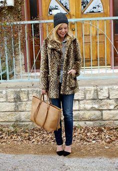 10 Ways To Wear A Leopard Print Coat