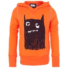 Mini and Maximus Big monster hooded jumper