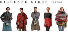 Highland Store - an amazing collection of tartan products