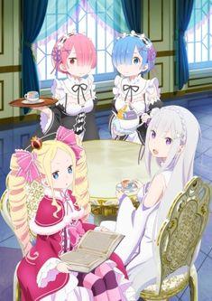 Re zero wallpaper,so cute girls Lolis Anime, Otaku Anime, Beautiful Anime Girl, Anime Love, Re Zero Wallpaper, Ram And Rem, Re Zero Rem, Anime Lindo, Best Waifu