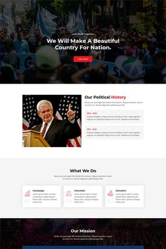 Polixer - Political Landing Page Template Page Template, Brochure Template, Templates, Event Landing Page, Jquery Slider, Website Color Schemes, Landing Page Inspiration, Corporate Style