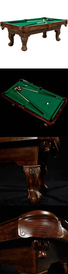 Tables 21213: Billiard Pool Table 89.5 Barrington Billiards Springdale Pool Table BUY IT NOW ONLY: $832.9