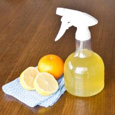 Pin for Later: Make These 69 DIY Cleaning Products For Pennies DIY Citrus Spray Don't toss your orange and lemon peels! Use them for making this seriously easy citrus spray that does an amazing job cleaning greasy countertops. Homemade Cleaning Products, Cleaning Recipes, Natural Cleaning Products, Cleaning Hacks, Cleaning Supplies, Cleaning Solutions, Cleaning Spray, Cleaning Items, Hacks Diy