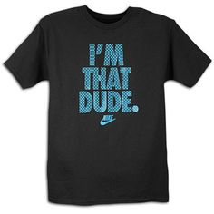 Football Sayings for T-Shirts | Shop im that dude t shirt mens navy teal from Nike in our fashion ...