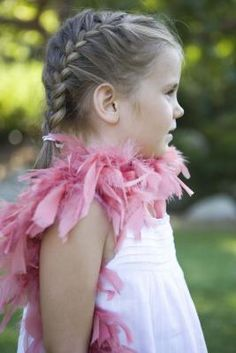How to French Braid Pigtails for Little Girls