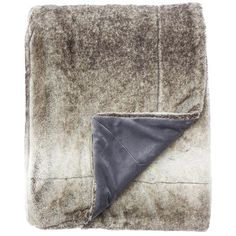 Arctic Throw in Moonstruck & Beluga design by Jaipur ($99) ❤ liked on Polyvore featuring home, bed & bath, bedding, blankets, throws & blankets and jaipur bedding