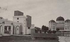 Moskee in Medan 1900-1920.