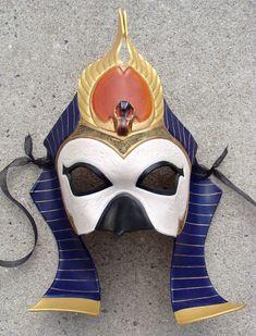 Egyptian Sun God, Ra Mask V.2 by b3designsllc