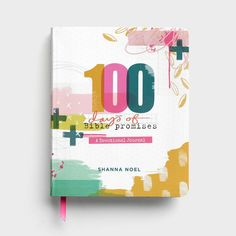 I want to share with you the newest book by Shanna Noel, founder of Illustrated Faith: 100 Days of Bible Promises: A Devotional Journal! There's been a lot of buzz in the journaling community… Bible Promises, Gods Promises, Planner Stickers, My Daily Devotion, First Instagram Post, Devotional Journal, Bible Journal, Daily Journal, Illustrated Faith