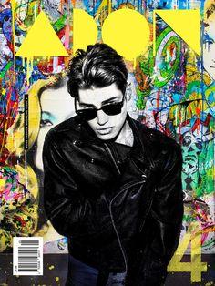 Sam Way by Joseph Sinclair and Mr. Brainwash for ADON Magazine #04