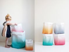 minor de:tales: New sacks by Varpunen Get One, Objects, Sacks, Cool Stuff, Baby Products, Storage, Kids, Inspiration, Design