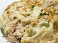 Crock Pot Tuna Noodle Casserole - good ole comfort food!  www.getcrocked.com