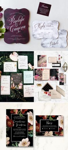 Winter wedding invitations Wedding Invites & Paper