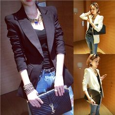 Cheap Blazers on Sale at Bargain Price, Buy Quality Blazers from China Blazers Suppliers at Aliexpress.com:1,Collar:Notched 2,sleeve type:shrugged sleeve 3,Gender:Women 4,fabric:others, others, others, others, others, others 5,clothes design details:high temperature shaping, resin laking