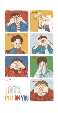 Cre: the owner/as logo Got7 Youngjae, Jaebum Got7, Got7 Jinyoung, Markson Got7, Yugeom Got7, Got7 Meme, Got7 Fanart, Kpop Fanart, Got7 Jackson
