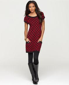 cap sleeve tunic dress