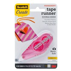 Scotch® Patterned Tape Runner, Hearts