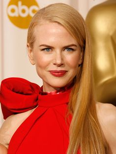 Best sleek and straight, Nicole Kidman, 2007 Academy Awards