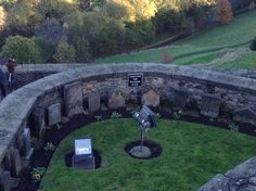 Cemetery for soldiers dogs, Edinburgh Scotland