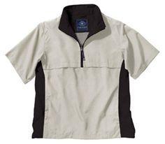 Charles River Apparel Men's Ace Short Sleeve Windshirt