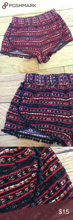 Forever 21 Cloth Shorts Boho Hippie Festival Small Forever 21 Cloth Shorts Boho Hippie Festival Small Forever 21 Shorts