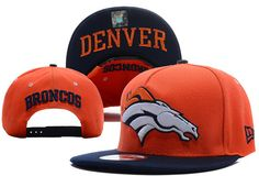 promo code 0a2f4 f32e4 NFL Denver Broncos Snapback New Era 9FIFTY Hats Orange 5846 only US 8.90