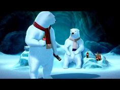 In an ambitious bid to dominate social media conversations around the Super Bowl, Coca-Cola is rolling out a campaign in which its polar bear mascots will react in real time to the big game, even the ads. Coca Cola Santa Claus, Coca Cola Polar Bear, Pepsi Cola, Coke, Coca Cola Christmas, Bear Signs, Soda Brands, Penguin S, Cool Pets